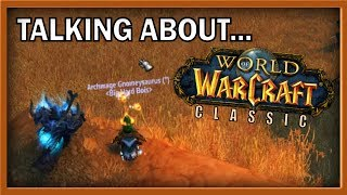 NEW CLASSIC WoW NEWS!? - Time to discuss it with Crendor...
