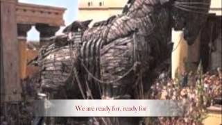 """the Trojan War"" Dark Horse Parody"