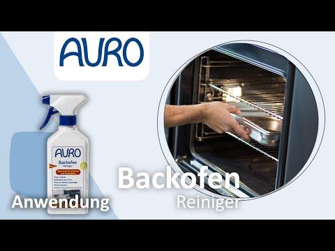 AURO Anwendung Backofenreiniger