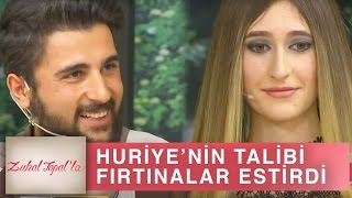 Zuhal Topal'la 186. Bölüm (HD) | Huriye'nin Talibi Deniz Bir Geldi, Stüdyoda Fırtınalar Estirdi!