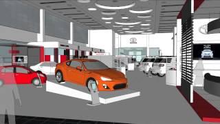 Toyota Al Badia Dubai Car Showroom