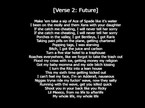 Future x The Weeknd – Low Life (Lyrics) - YouTube