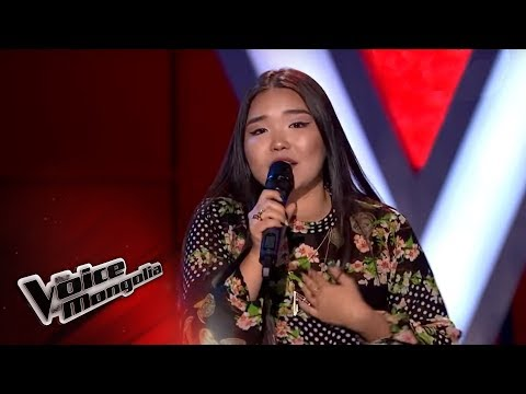 """Maralgoo.Ch - """"Monster"""" - Blind Audition - The Voice of Mongolia 2018"""