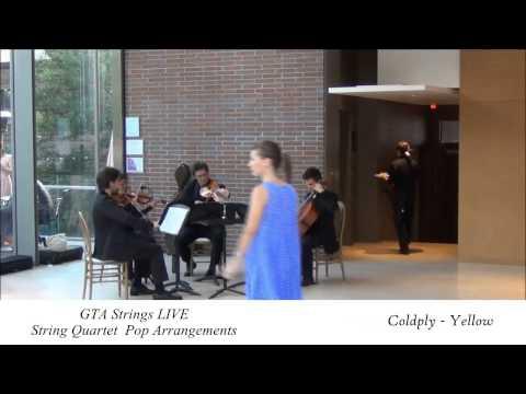 Coldplay - Yellow - String Quartet COVER GTA Strings