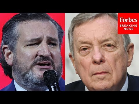 """I Understand Why You Interrupt Me"": Ted Cruz Snaps At Dick Durbin After Being Told To Sto"