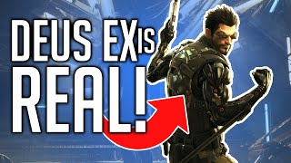 The TECH! How close are we to Deus Ex technology?