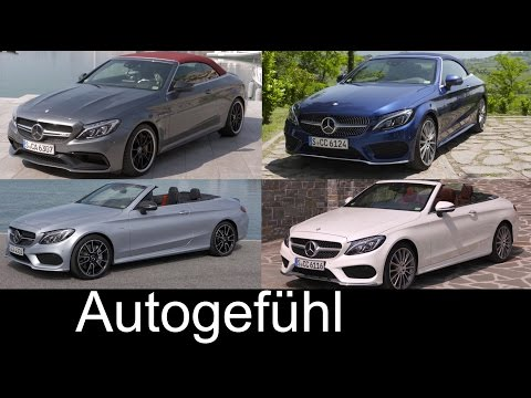 Exterior/Interior versions & colours Mercedes C-Class Cabriolet C300 C400 C43 C63S C-Klasse