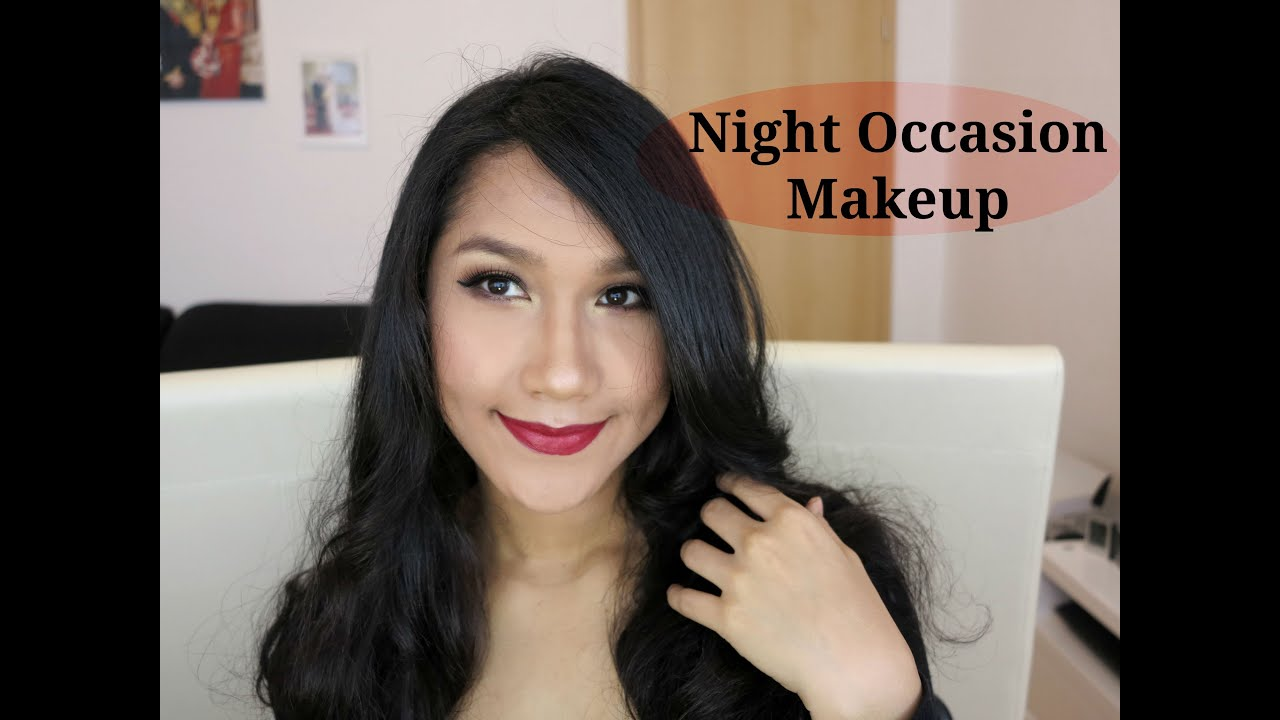 Night Party Makeup - Makeup Pesta Malam Hari (Tutorial Bahasa Indonesia) - YouTube