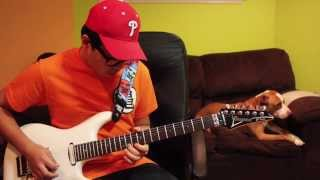 Voltes V Opening Theme (cover by 12yr old PhillyGuitarKid)