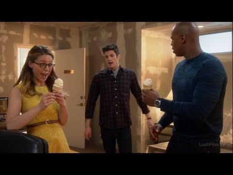 В какой серии флеш встречает супергерл в сериале флеш