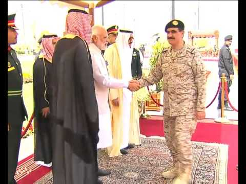 PM Modi in Saudi Arabia: Official Welcome Ceremony
