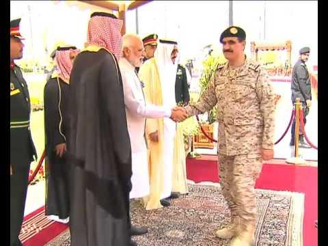 PM Modi in Saudi Arabia: Official Welcome Ceremony