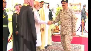 PM Modi in Saudi Arabia: Official Welcome Ceremony | PMO