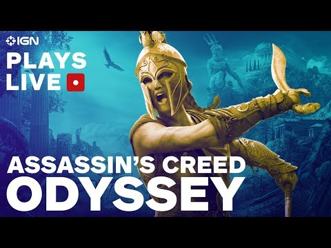 Assassin's Creed Odyssey: Exploring the Beautiful Open World of Ancient Greece – IGN Plays Live