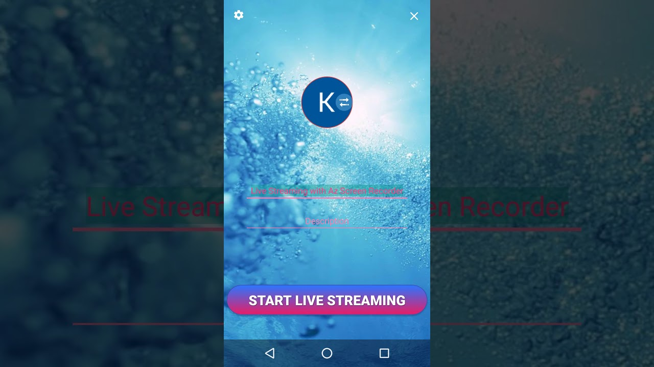 How to switch YouTube account in Live stream feature