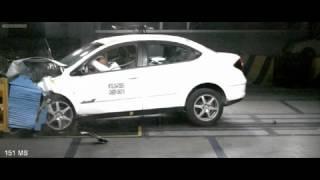 Chery M11 crash test (Чери М11 краш)(http://asiaparts.com.ua/chery автозапчасти Chery скидка до 15% http://asiaparts.com.ua/ запчасти на китайские автомобили., 2012-09-13T07:21:08.000Z)