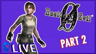 Resident Evil 0 (GC) PART 2   SSFF Live