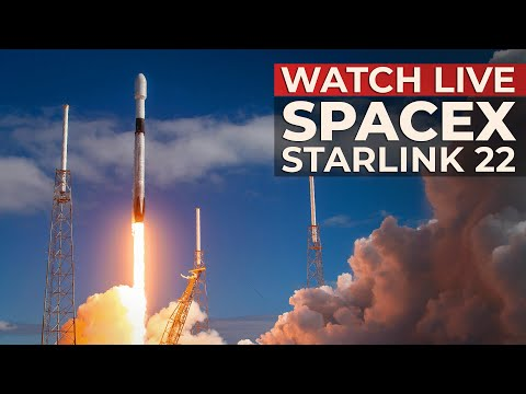 WATCH: SpaceX Falcon 9 launch of Starlink 22 mission from SLC-40