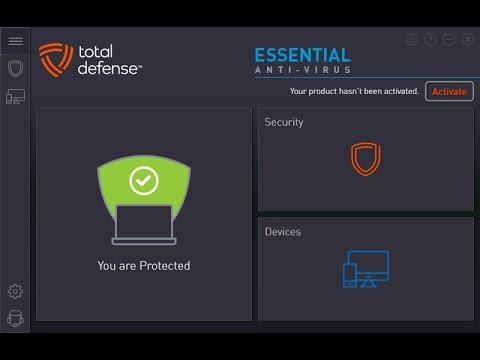 Тестирование Total Defense Essential Anti Virus