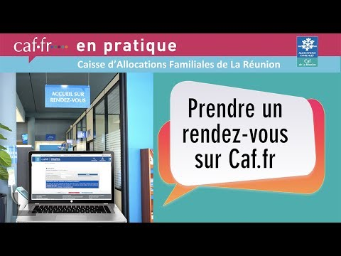 caf en pratique prendre un rendez vous sur youtube. Black Bedroom Furniture Sets. Home Design Ideas