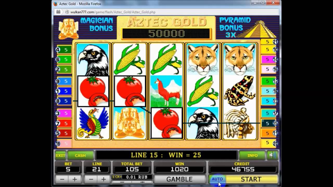 Особые Символы Игрового Автомта Aztec Gold | Игра Aztec Gold Онлайн Пирамида Казино Игровой Автомат