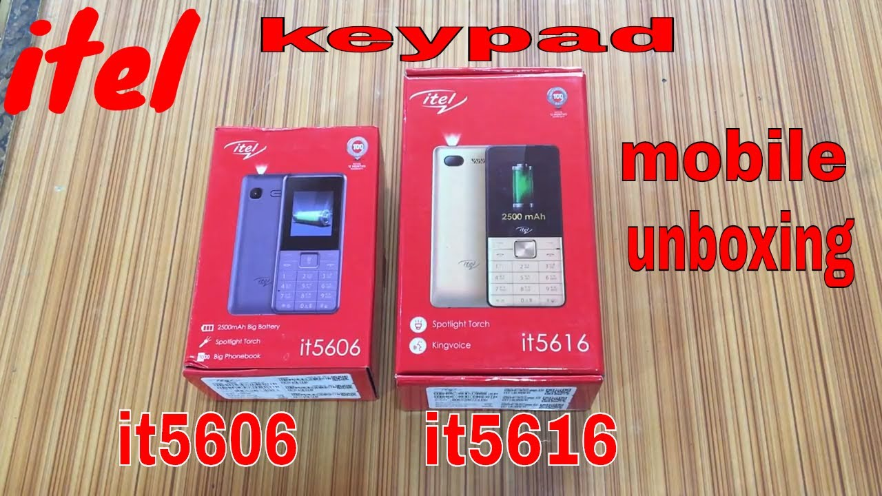 Itel it5606 and it5616 full unboxing and reviews in hindi