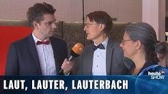 Karl Lauterbach muss SPD-Chef werden! (Lutz van der Horst)   heute-show vom 06.09.2019