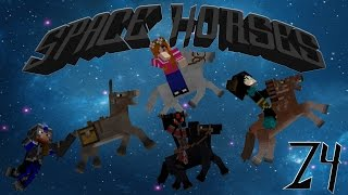Minecraft Modded (SPACE HORSES 2.0) Ep:74 The Space Horse Virus