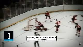 "New York Islanders ""Trio Grande"" Line Mike Bossy Bryan Trottier Clark Gillies Footage Part 2"