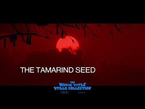 The Tamarind Seed (1974) title sequence