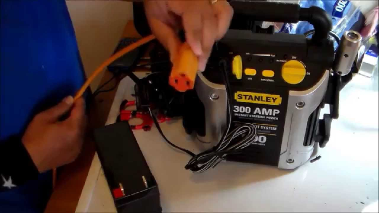 hight resolution of stanley jump starter repair and possible mod