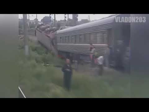 Крушения поездов | Аварии на ЖД (2019)