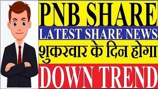 PNB SHARE - PNB DOWN TREND PNB STOCK LATEST NEWS PNB
