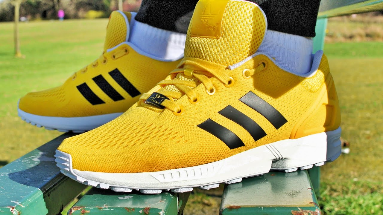 zx flux yellow