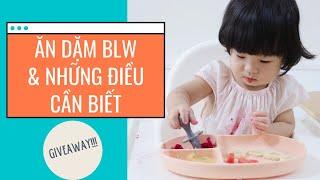 Ăn Dặm BLW (bé chỉ huy) và Những Điều Mẹ Cần Biết Để Bắt Đầu//Giveaway!!!//Peanut Ăn Dặm (Tập 14)
