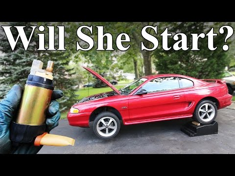 How to Diagnose and Replace a Fuel Pump - YouTube