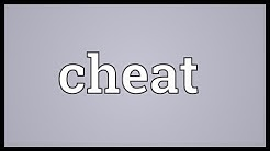 Cheat Meaning