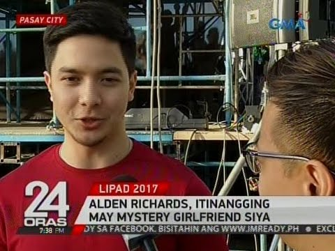 Alden Richards, itinangging may mystery girlfriend siya