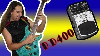 Fast Review - Delay DD400 Behringer - Maycon Priorato