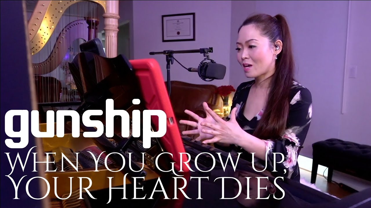 Gunship - When You Grow Up, Your Heart Dies   Twitch Request Played by PianistMiri 이미리 Miri Lee