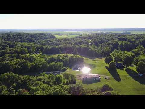 Mavic Flight Over the Bluff Columbia IL