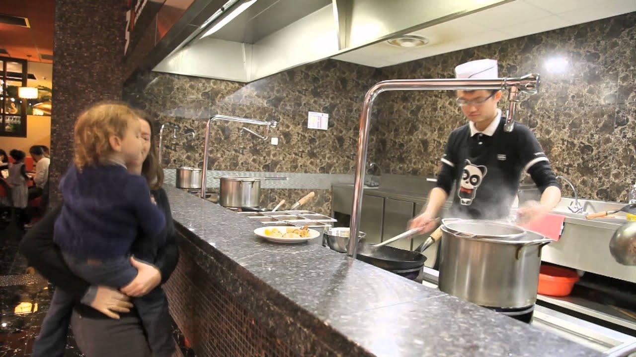 pr sentation des restaurants opanda buffet wok volont youtube. Black Bedroom Furniture Sets. Home Design Ideas