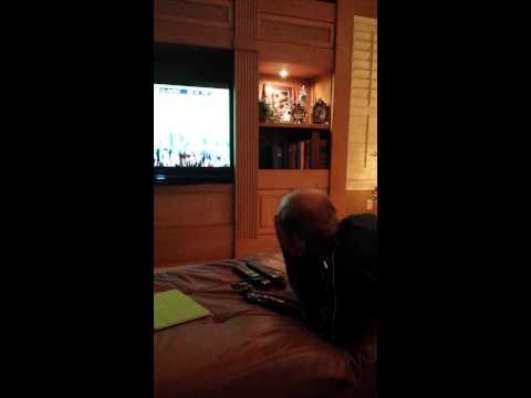 Auburn vs. Alabama Iron Bowl 2013, Rowdy Gaines reaction.