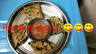 Palak paratha recipe | Spinach paratha recipe | Palak recipes - Handi Restaurent