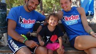 15-07-2015: Davide Mazzanti, Serena Ortolani e la piccola Gaia tra scudetto, Jam Camp e Conegliano