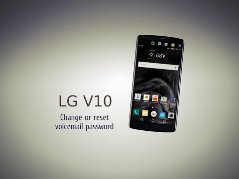 How To Lg V10 Change Or Reset Voicemail Word