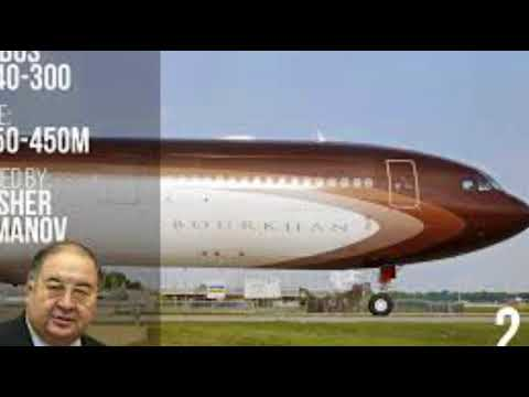 Top 5 Luxury & Expensive Private Jet'S