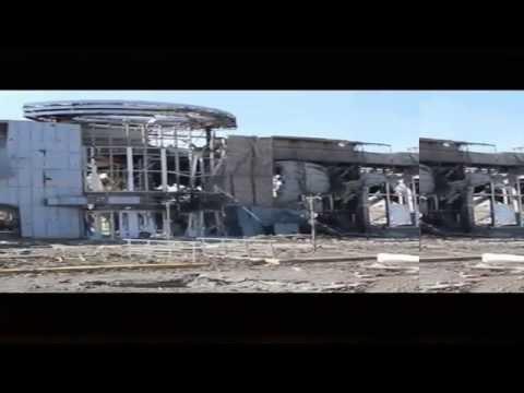 Ukraine War.EXCLUSIVE! RUINS LUHANSK AIRPORT!Donetsk Ukraine Lugansk news today