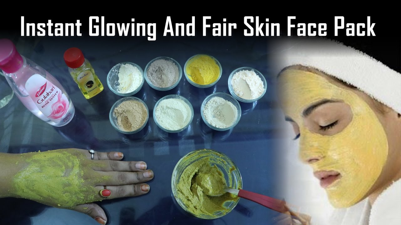 Glowing And Fair Skin  How To Make Ubtan Face Pack In 12 Minutes   Ayurvedic Home Made face Pack