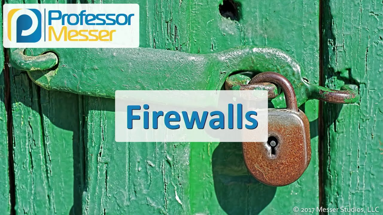 Download Firewalls - CompTIA Security+ SY0-501 - 2.1